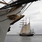 Bis zum 12. August dreht sich in Rostock alles um Schiffe - jährlich strömen rund eine Million Besucher zur Hanse Sail.