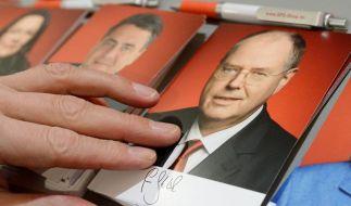 Bisher läuft der Wahlkampf von SPD-Kanzlerkandidat Peer Steinbrück ziemlich verkorkst. Einer Panne folgt die nächste. (Foto)