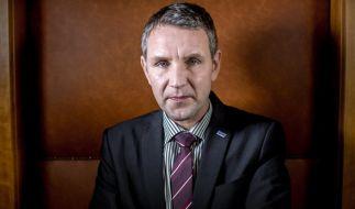 Björn Höcke ist AfD-Fraktionsvorsitzender in Thüringen. (Foto)