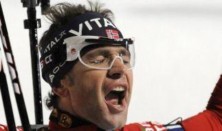 Björndalen gewinnt WM-Titel unter Vorbehalt (Foto)