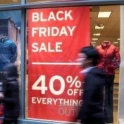 Black Friday Sale startet. (Foto)