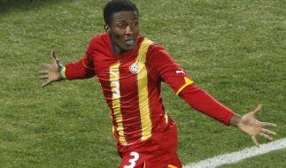 «Black Stars» funkeln: Gyan schießt Ghana weiter (Foto)