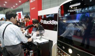 Blackberry-Absatz unter Druck: RIM baut Stellen ab (Foto)
