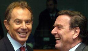Blair und Schröder (Foto)