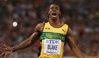 Blake fordert Bolt: Mit 99-Gramm-Spikes zur Medaille (Foto)