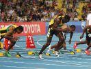 Blamage für Superstar Bolt  (Foto)