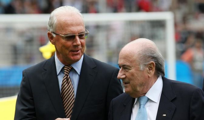 Blatter beruhigt Beckenbauer nach Kritik (Foto)