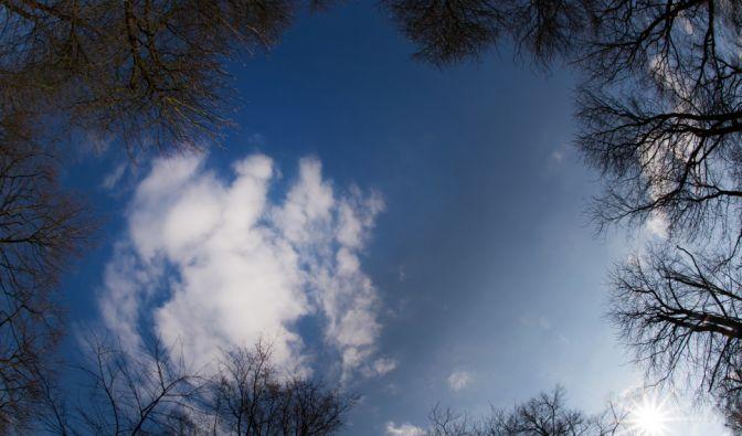 Blauen Himmel wie hier wird es dank Sturmtief Xin am Wochenende wohl eher selten geben. (Foto)