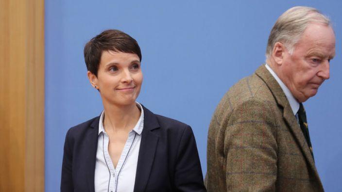 Bleibt Frauke Petry mit ihrer Absage an die neue Bundestagsfraktion isoliert? (Foto)