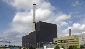 Blick auf das Atomkraftwerk in Brunsbüttel. (Foto)
