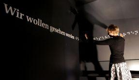 Blinde Frau (Foto)