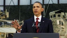 Blitzvisite in Kabul: Obama hält an Abzugsplan fest (Foto)