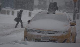 """Blizzard """"Snowzilla"""" hat New York eingefroren. (Foto)"""