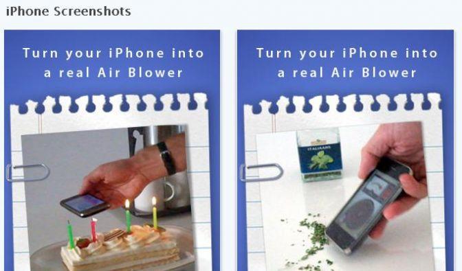 Blower App (Foto)