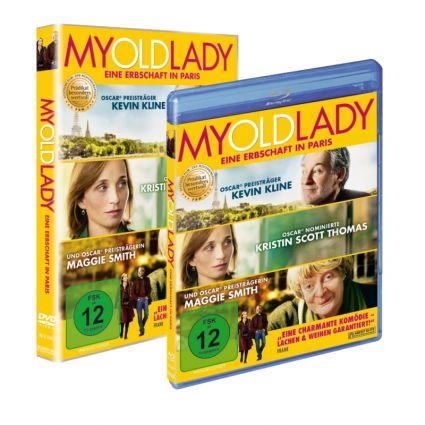 """Blu-ray und DVD zu """"My Old Lady"""" sind seit dem 5. Mai 2015 im Handel erhältlich - oder können mit etwas Glück auf news.de gewonnen werden. (Foto)"""