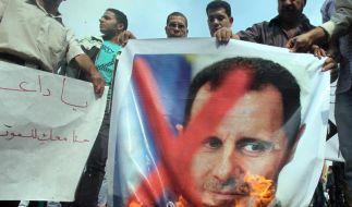 Blutbad in Syrien (Foto)