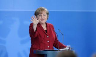 Blutig ist sie bei Erich Lickert, die Angela Merkel. (Foto)