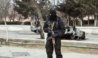 Blutige Gewalt in Kasachstan (Foto)
