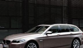 BMW 5er ab September wieder als Touring (Foto)