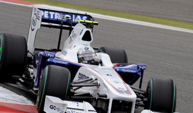 BMW hat die Formel-1-Motoren gestoppt, doch Nick Heidfeld soll weiterfahren. (Foto)