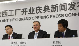 BMW verdoppelt Kapazitäten in China (Foto)
