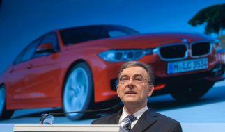 BMW will Spitzenposition verteidigen (Foto)