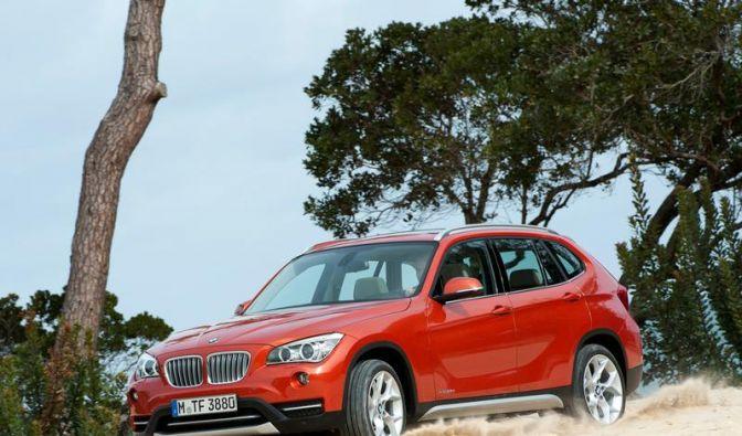 BMW X1 bekommt neue Motoren und frisches Design (Foto)