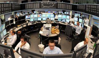 Börsen-Absturz (Foto)