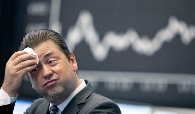 Börsen-Gesichter (Foto)