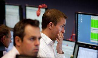 Börsen in Panik (Foto)