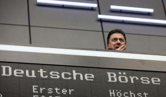 Börsenfusion Frankfurt-New York wackelt (Foto)