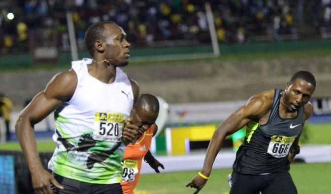 Bolt sprintet zur Weltjahresbestzeit (Foto)