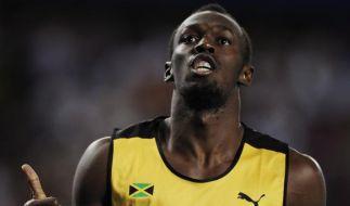 Bolt startet mit Staffelsieg in die Saison (Foto)