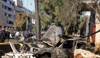 Bombenanschläge erschüttern Damaskus (Foto)