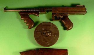 Bonnie und Clydes Waffen werden versteigert (Foto)