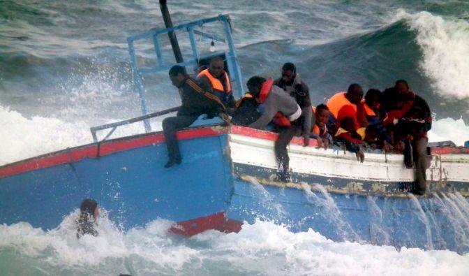 Bootsflüchtlinge (Foto)