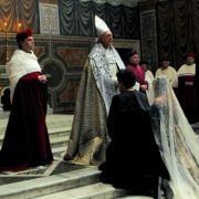 Bei den Kulissen und Kostümen in Borgia wurde an nichts gespart.
