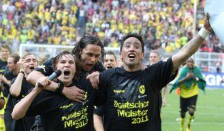 Borussia Dortmund feiert den Titel (Foto)