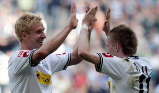 Borussia mit Dusel (Foto)