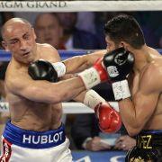 Box-Profi Arthur Abraham hatte es schwer gegen den Mexikaner Gilberto Ramirez beim Fight am 09.04.2016.