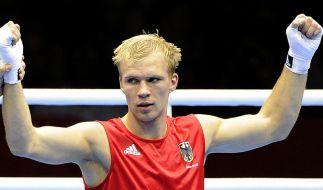 Boxer Härtel im Viertelfinale: Nun Medaillenjagd (Foto)