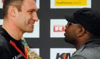 Boxkampf um den WM-Gürtel im Schwergewicht (Foto)