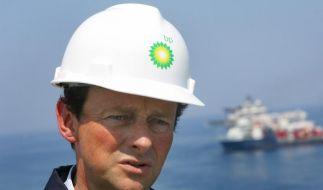 BP-Chef Hayward «am Boden zerstört» (Foto)