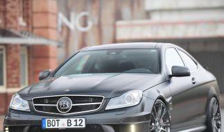 Brabus Bullit Coupé: Mercedes C-Klasse mit 800 PS (Foto)