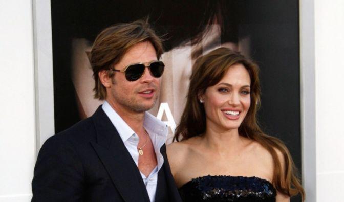 Brad Pitt und Angelina Jolie (Foto)