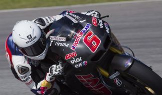 Bradl Neunter bei Motorrad-Tests - Vor Rossi (Foto)
