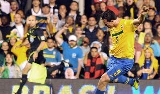 Brasilien schlägt Ghana mit 1:0 in London (Foto)