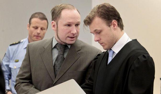 Breivik: «Bin nicht verrückt» (Foto)