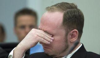Breivik plädiert für: «Nicht schuldig» (Foto)