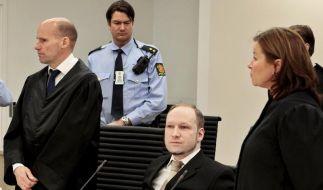 Breivik spricht über Utøya-Massaker (Foto)
